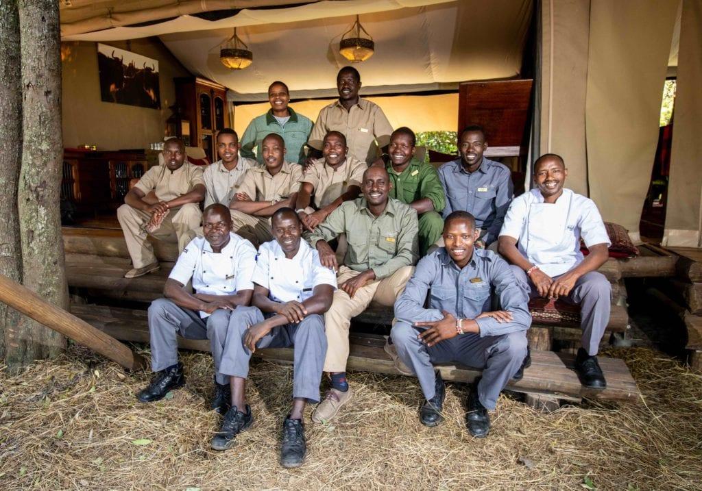 staff mara expedition camp kenya