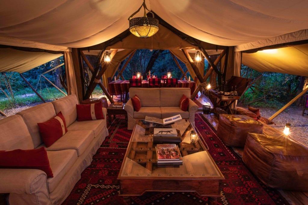 lounge tent mara expedition camp kenya