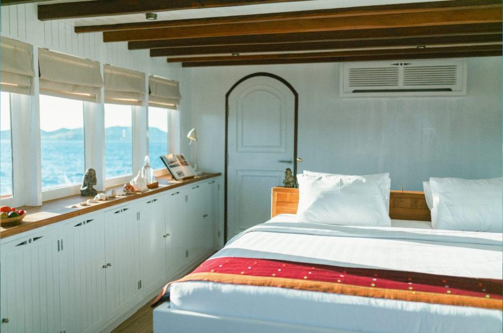 Double bedroom on Mischief