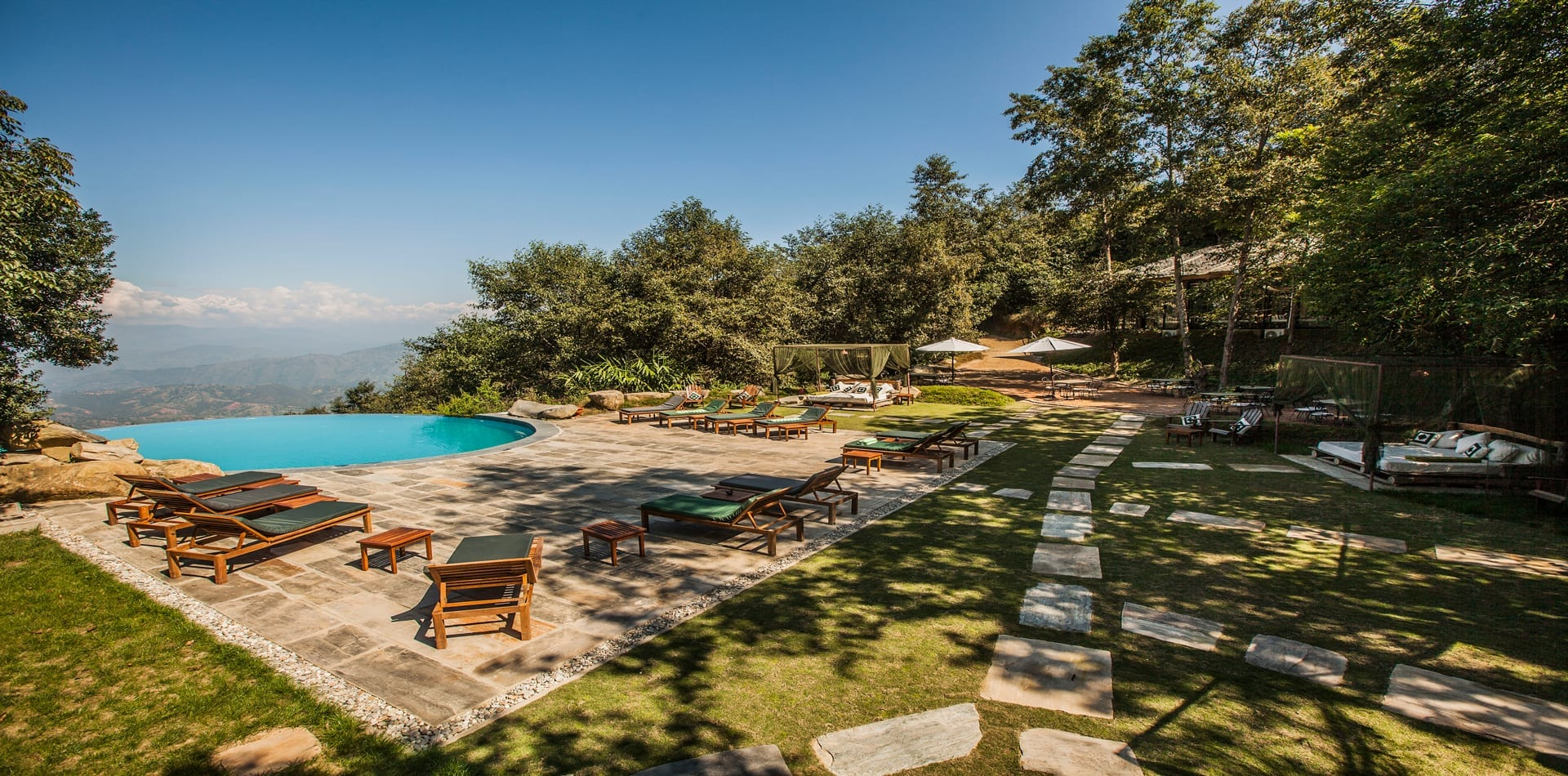 HERO Nepal Dwarikas Resort Infinity Swimming Pool