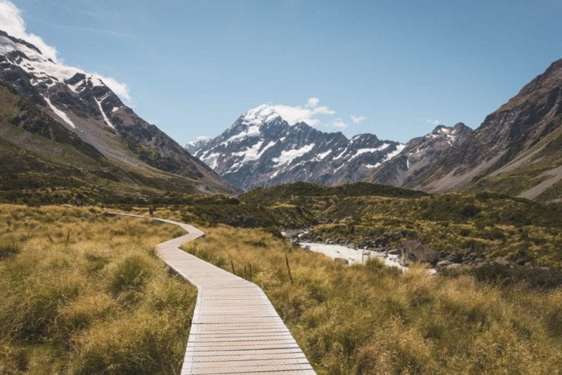Hike through the open alpine tundra