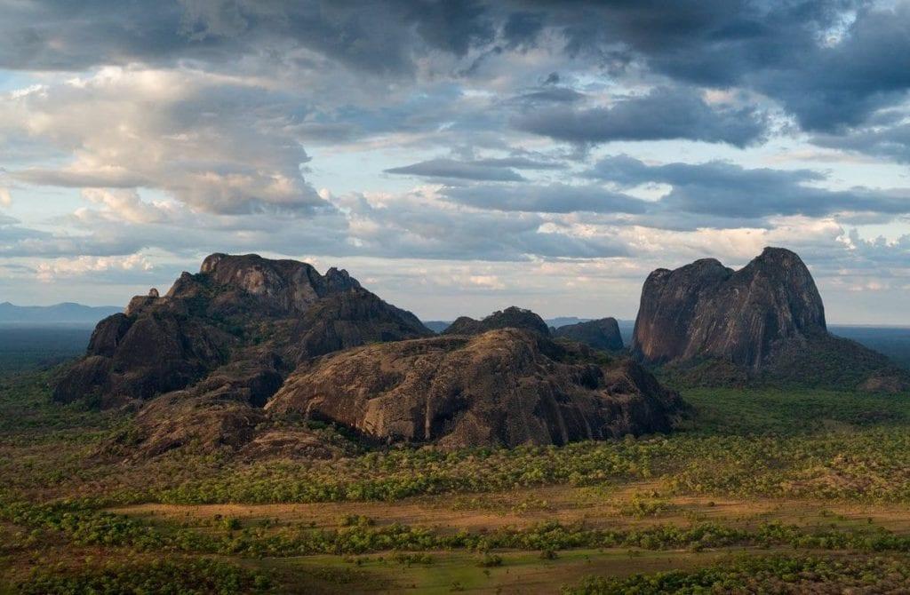 niassa game reserve inselbergs