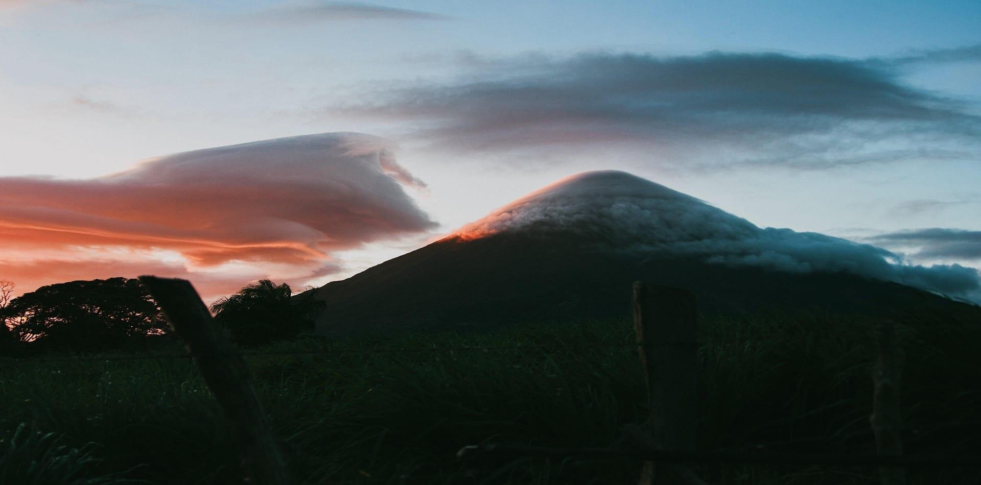 HERO Nicaragua Sunset Volcano