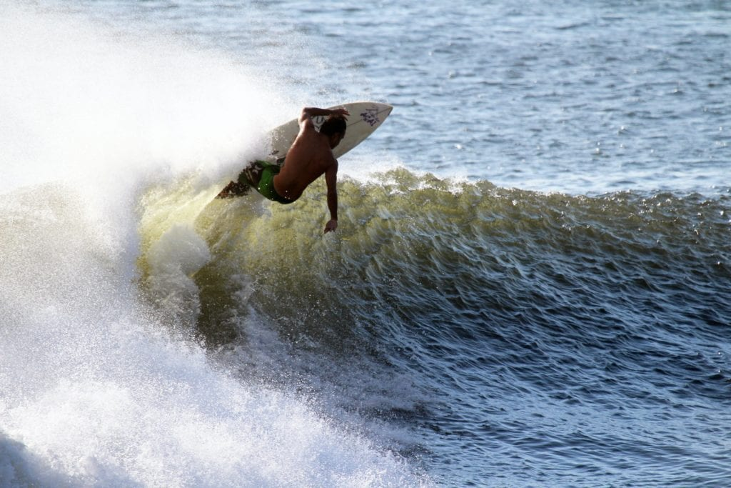 Nicaragua Surfer Beach
