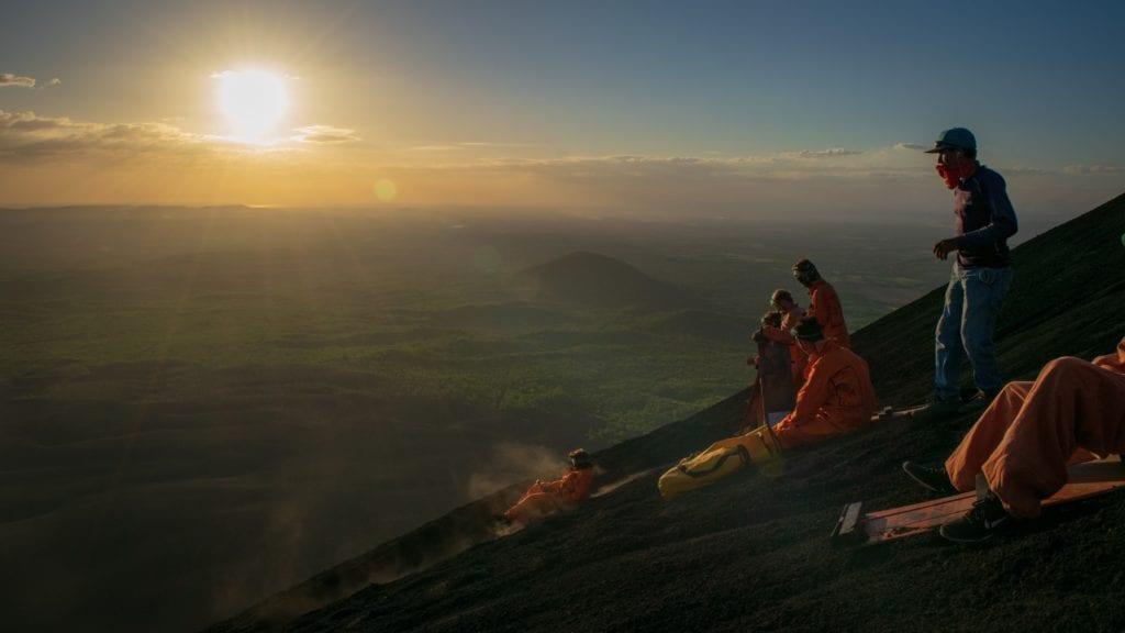 Nicaragua Volcano Sandboarding