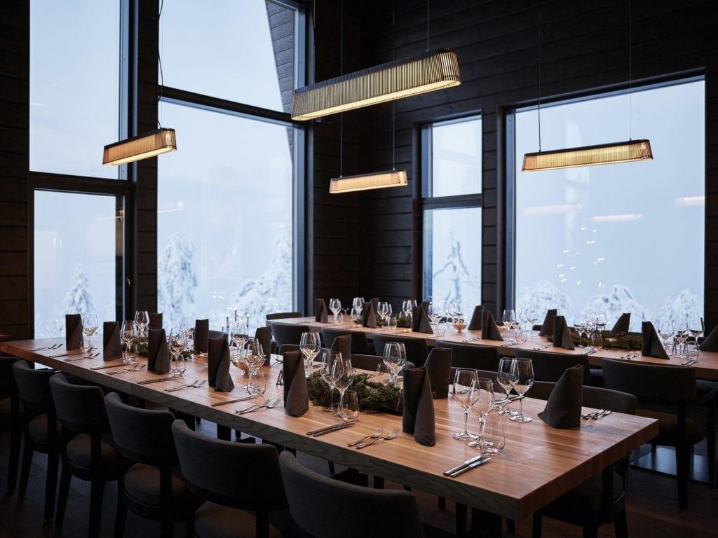 finland octola dining room