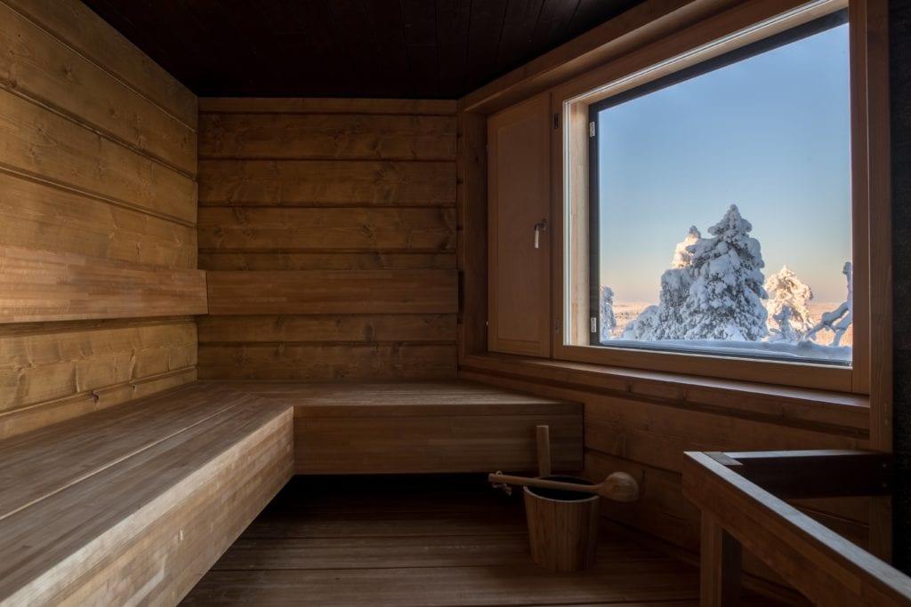 wood sauna octola finland