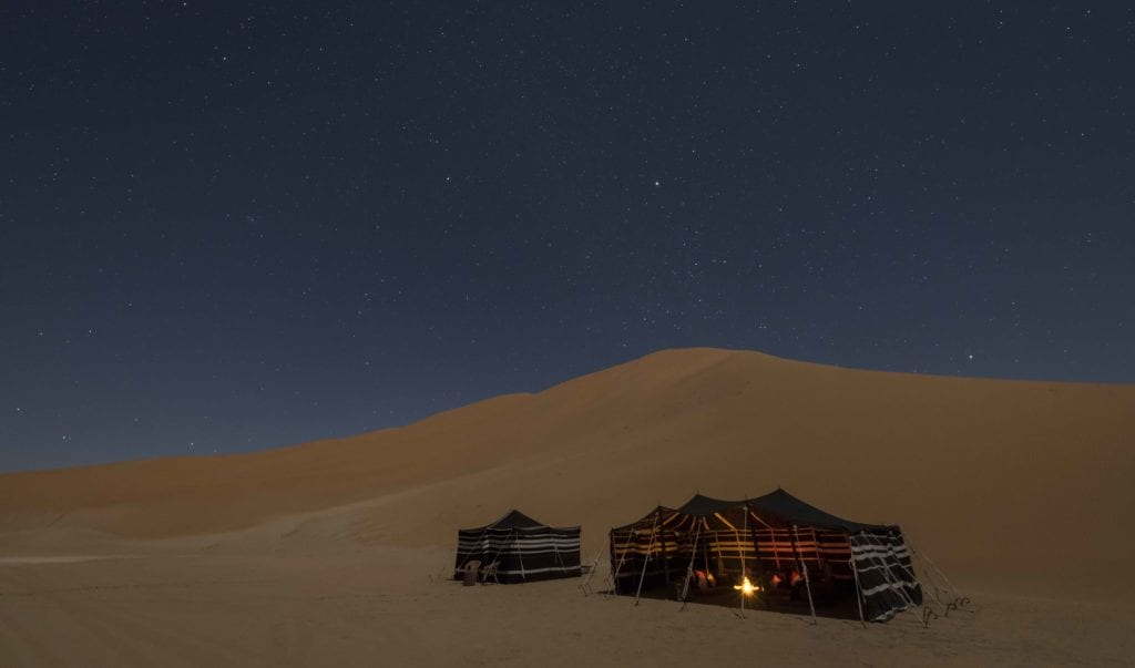 Oman Empty Quarter At Night