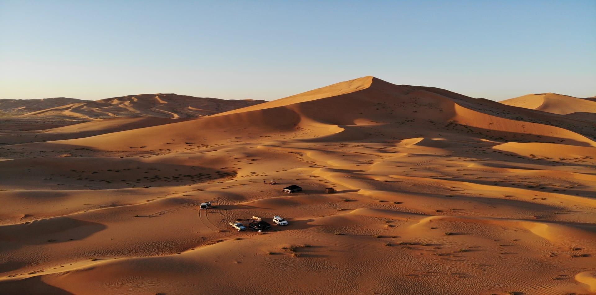 Oman Empty Quarter Bedu Camp