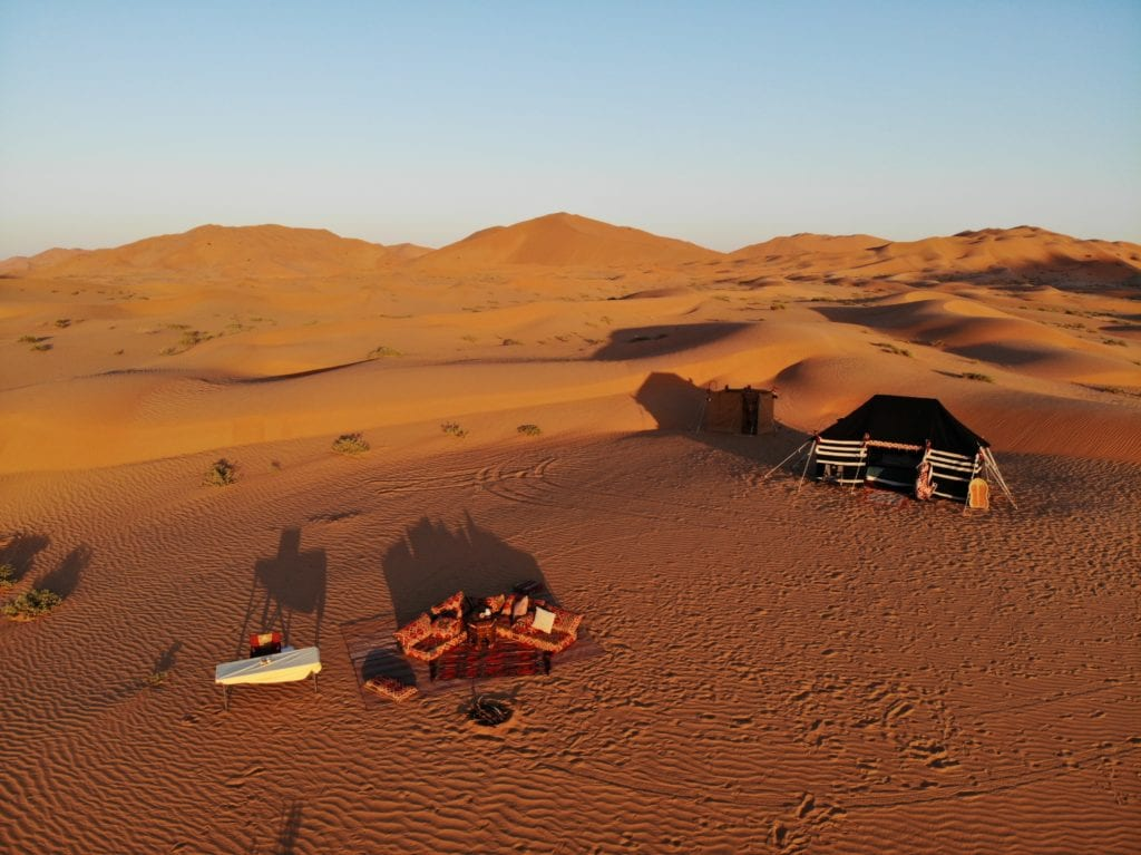 Oman Empty Quarter Bedu Camp exterior