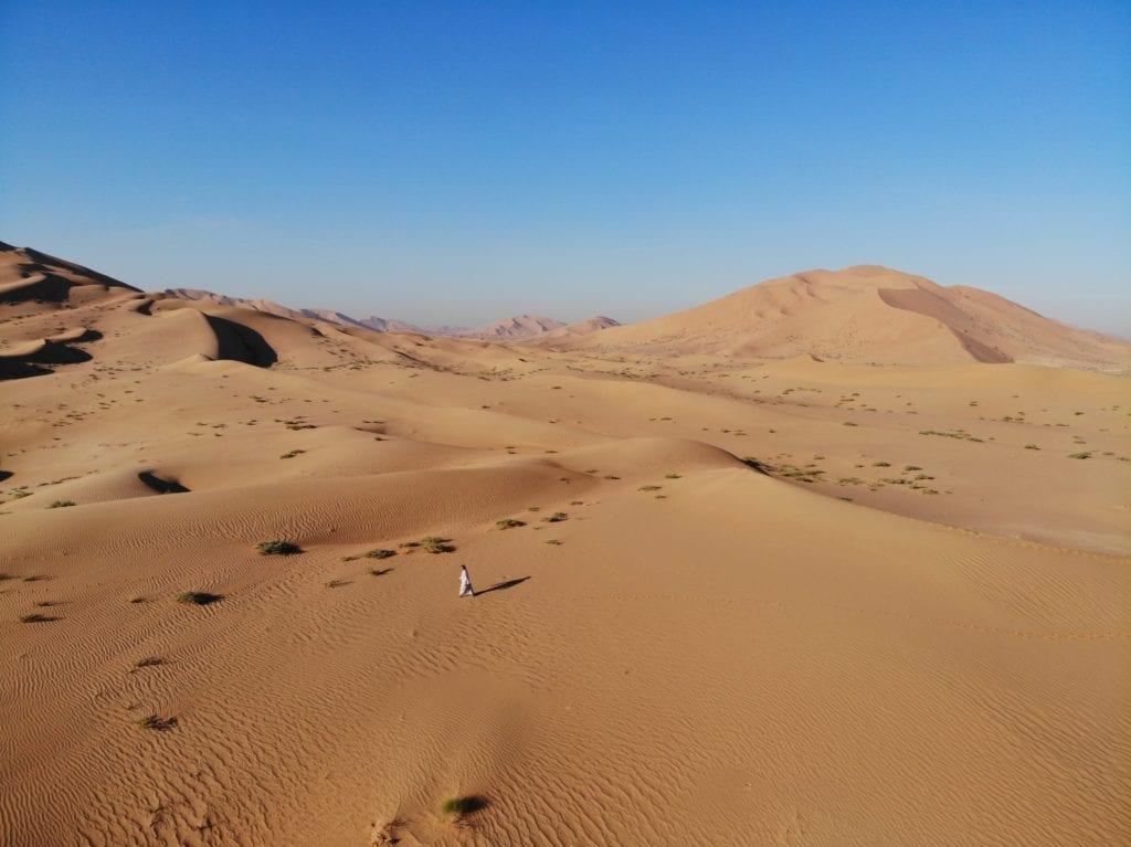 Oman Empty Quarter Bedu Camp desert landscape