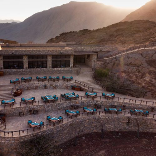 HERO Oman Six Senses Zighy Bay Aerial View