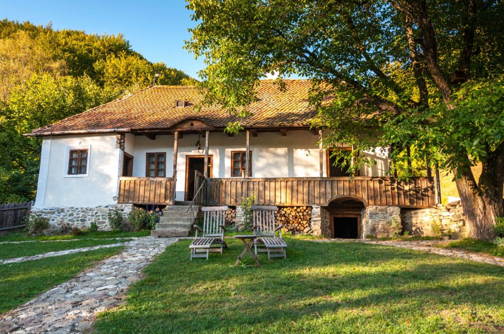 exterior view prince of whales guesthouses romania