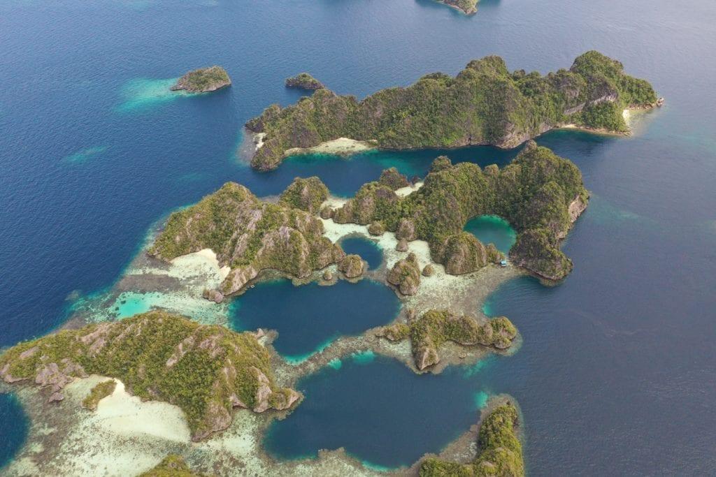 Raja Ampat's archipelago