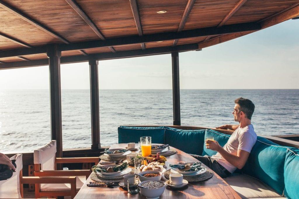 Rascal Yacht Exterior Dining