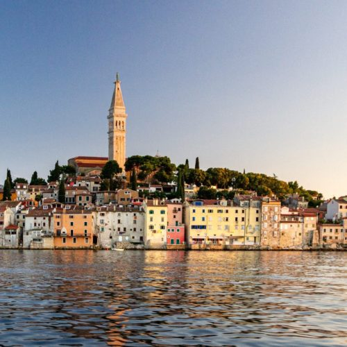 rovijn croatia coastal town
