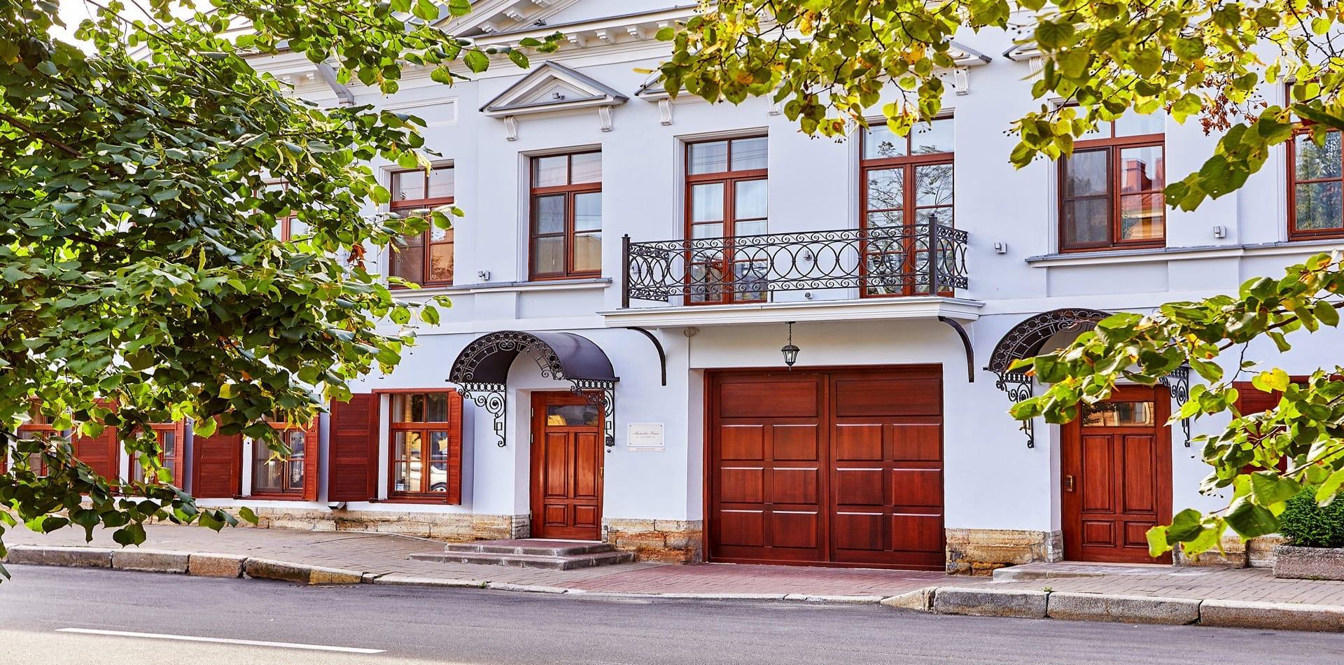 Exterior Street View of Alexander House St Petersburg Russia