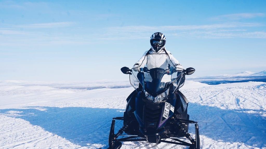 Russia Siberia Baikal Snowmobiling