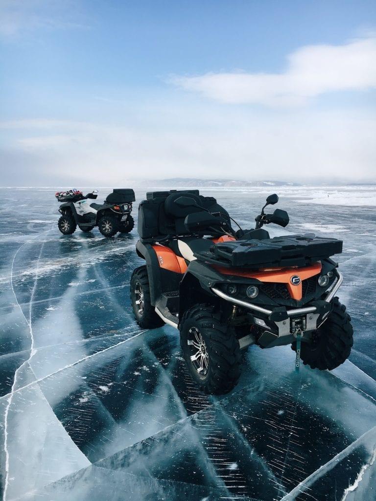 Russia Siberia Lake Baikal Quad Biking