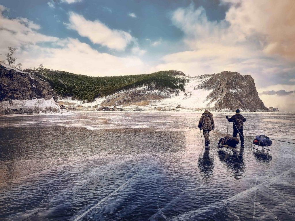 Russia Siberia Lake Baikal Suvival Course