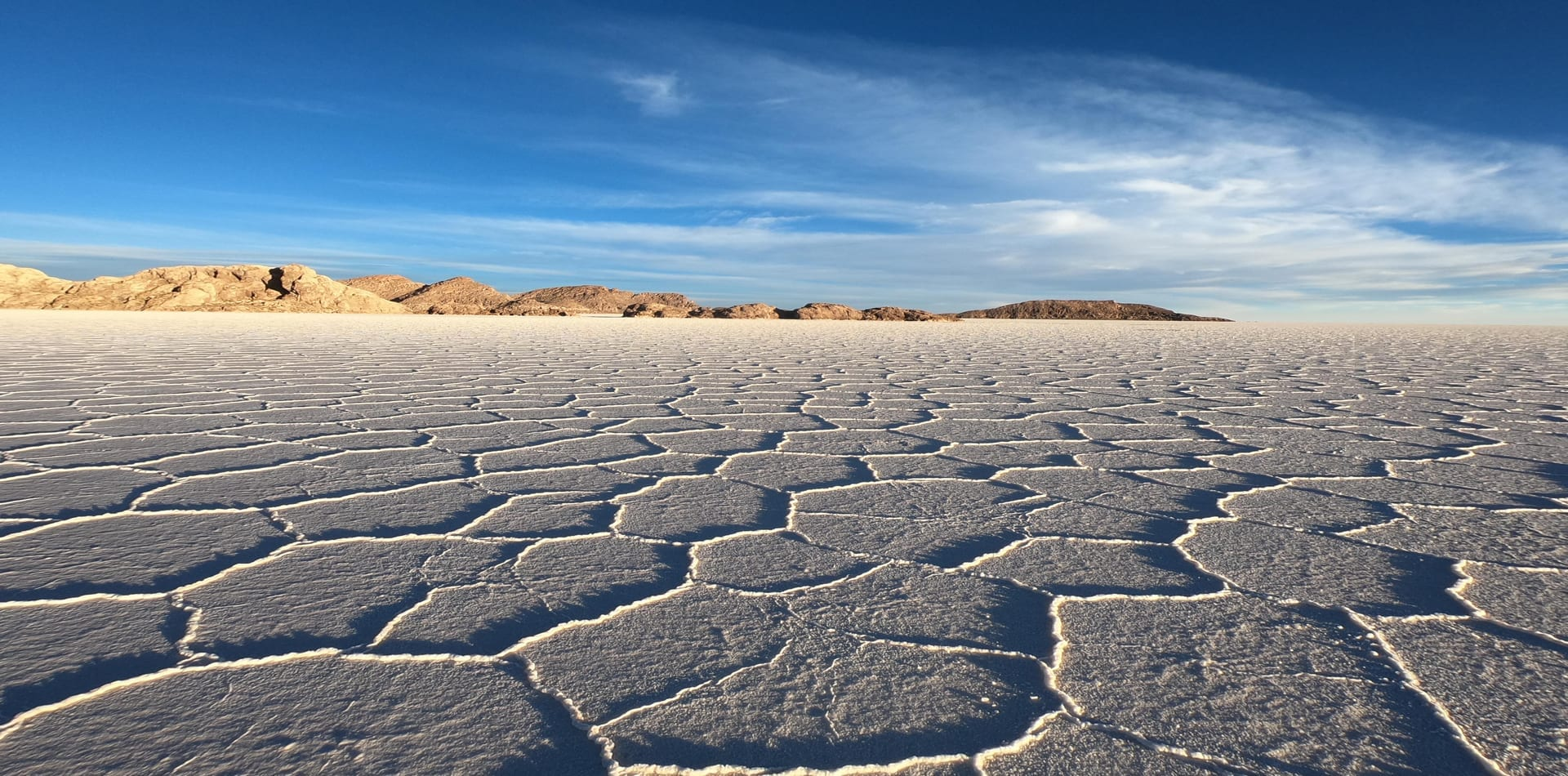 Salar du Uyuni in Bolivia