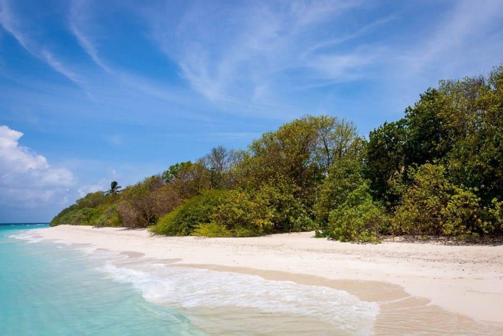 beach maldives soneva fushi