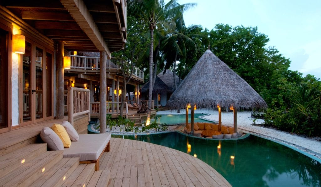 main area pool exterior soneva fushi maldives