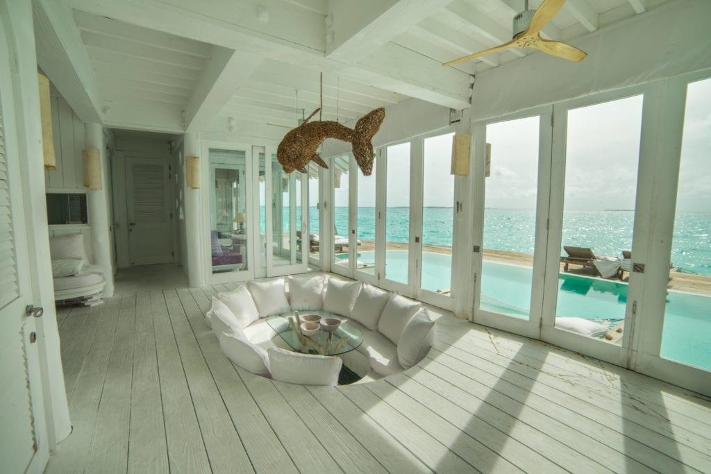 soneva jani maldives villa interior