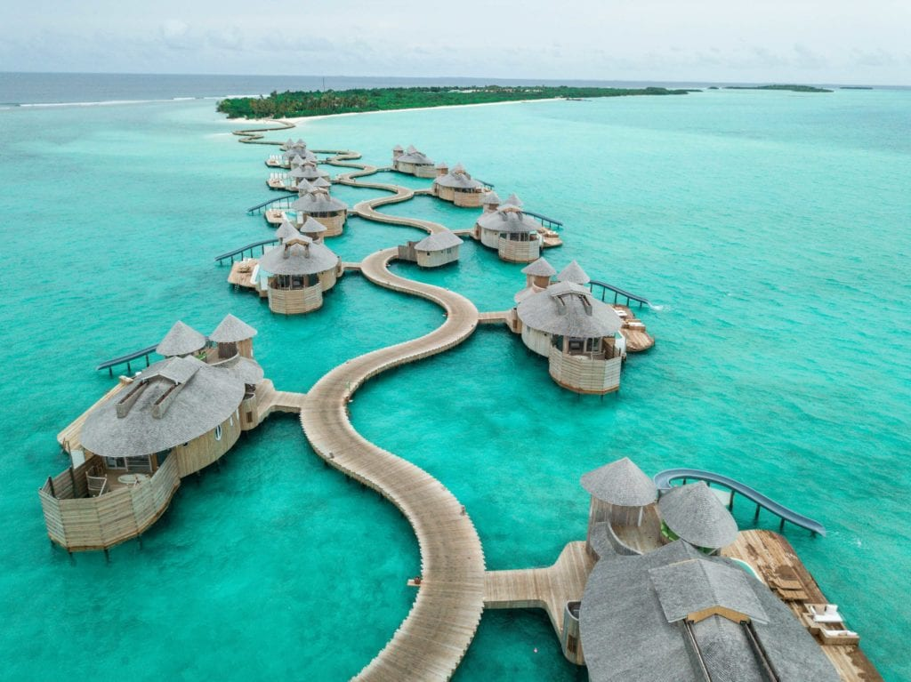 exterior view soneva jani maldives