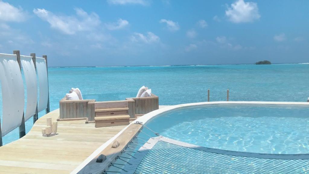 pool ocean view soneva jani maldives