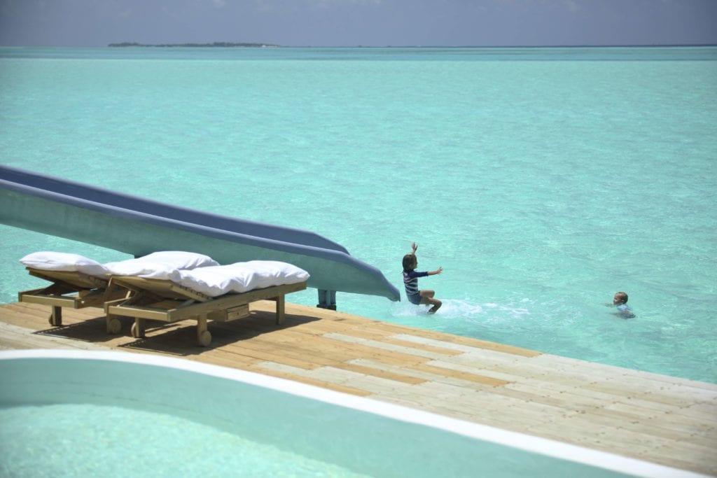 ocean slide soneva jani maldives