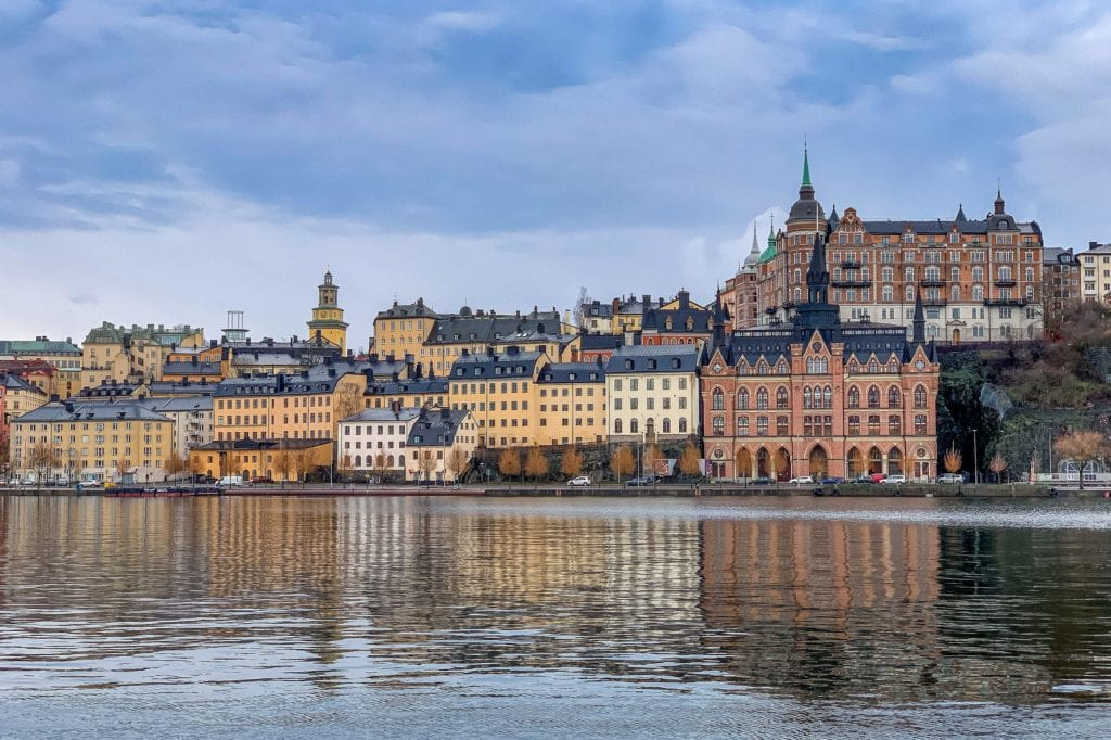 Stockholm, Sweden from the Water
