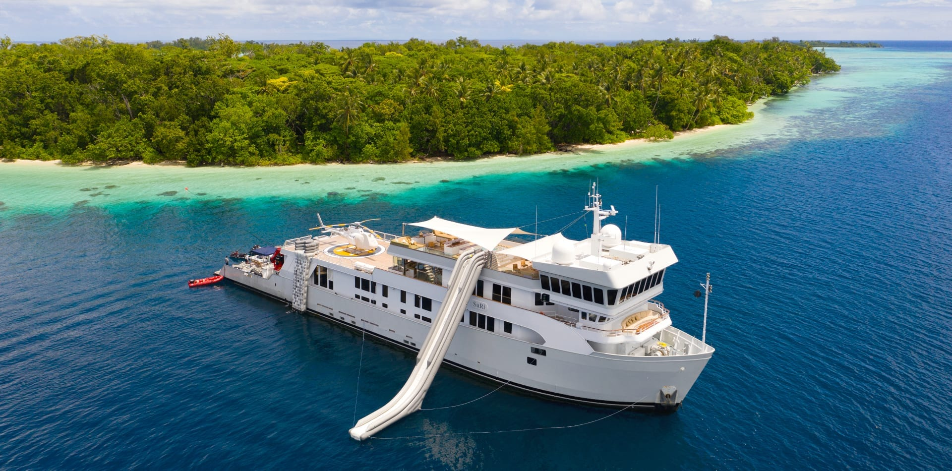 suri yacht exterior solomon islands