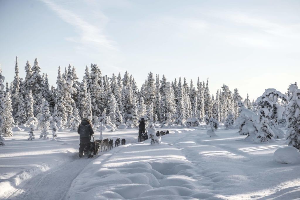 Sweden Arctic Lodge Winter Wonderland