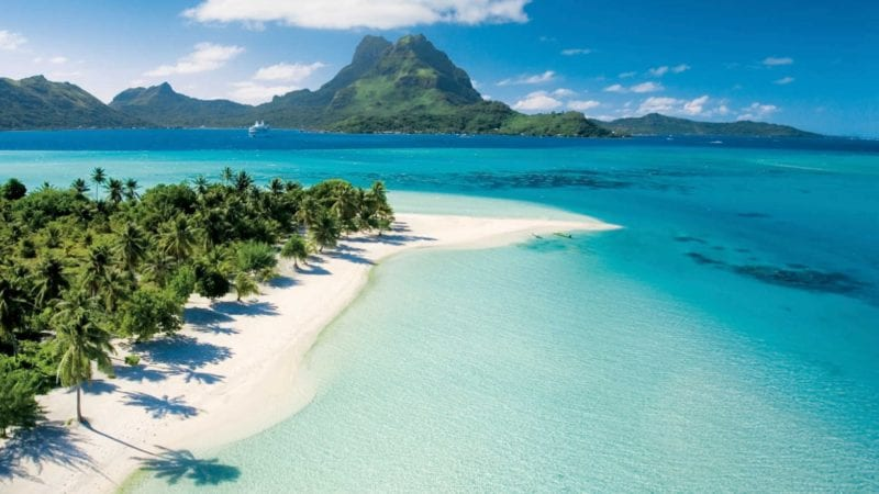 Tahiti and The Society Islands Aerial View