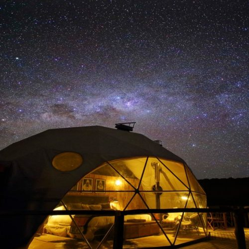 HERO Tanzania The Highlands Starry Dome Night