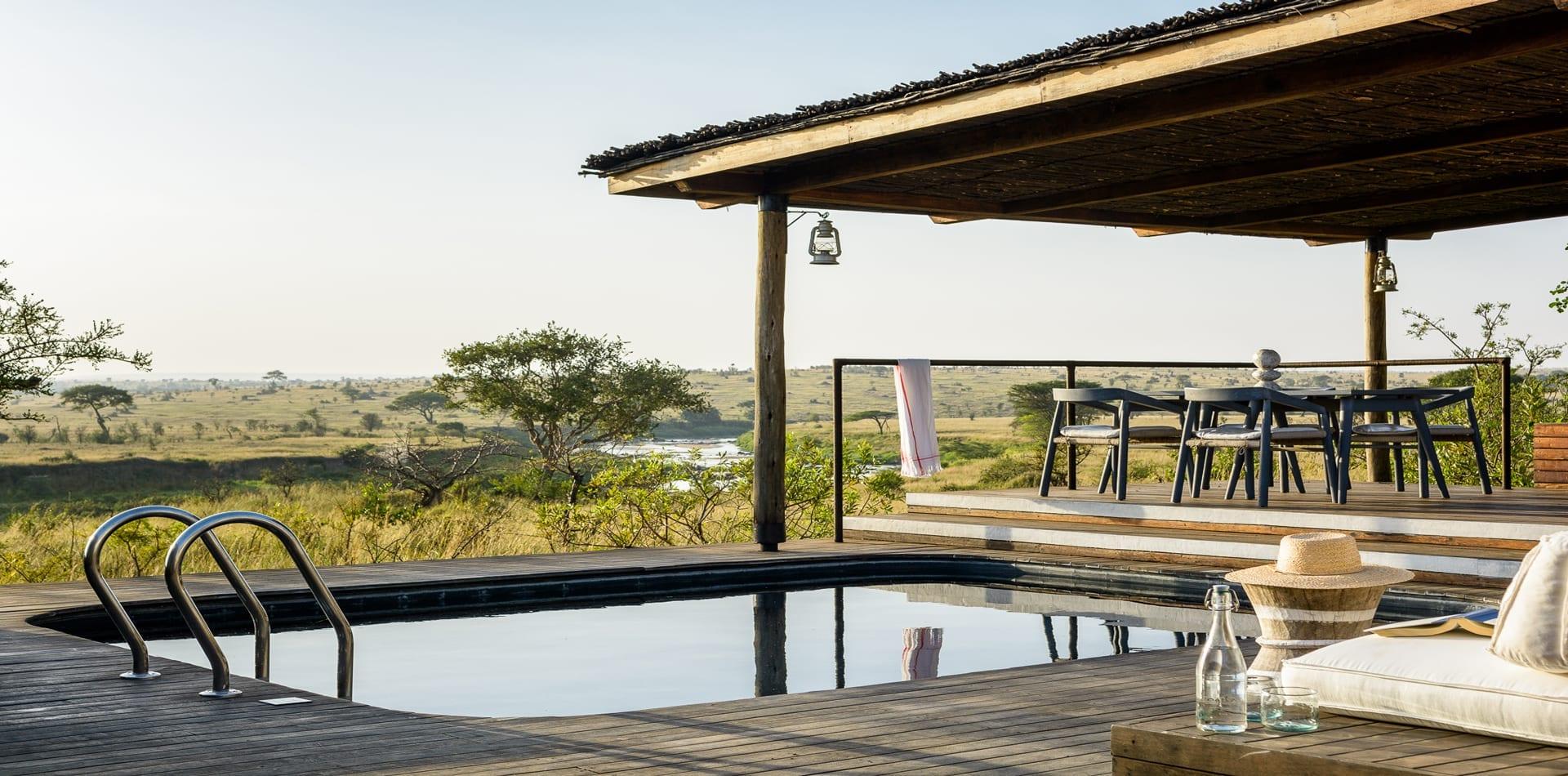 HERO Tanzania Mara River Tented Camp Pool
