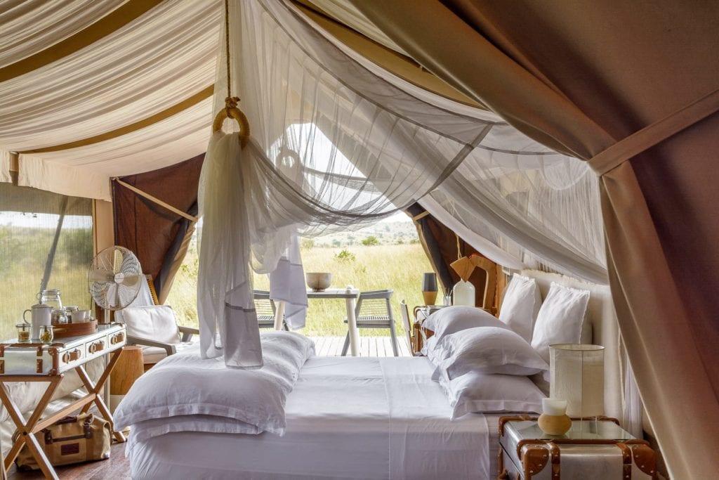 Tanzania singita bedroom