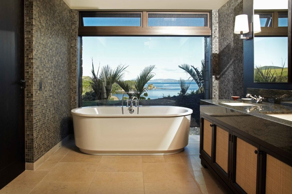 bathtub view the landing new zealand