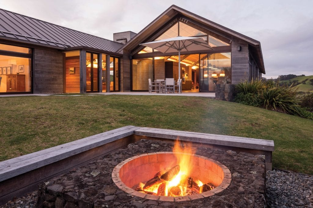 outdoor fire new zealand the landing