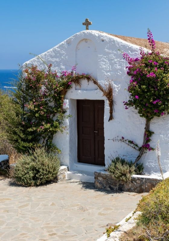 Traditional building in Greece