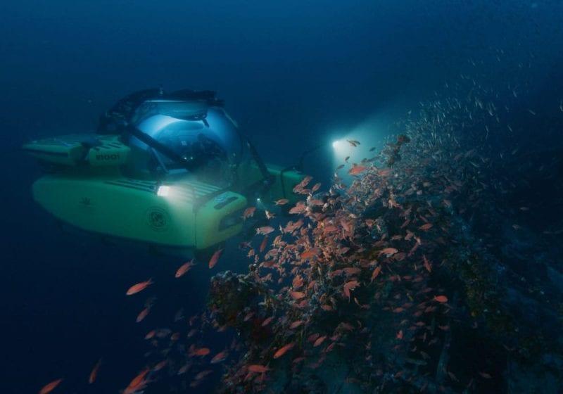 Yacht U-boat sub in Greece