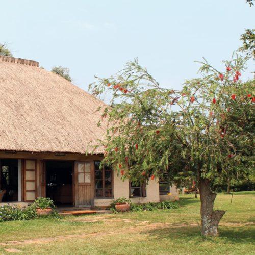 Ndali Lodge Exterior in Uganda