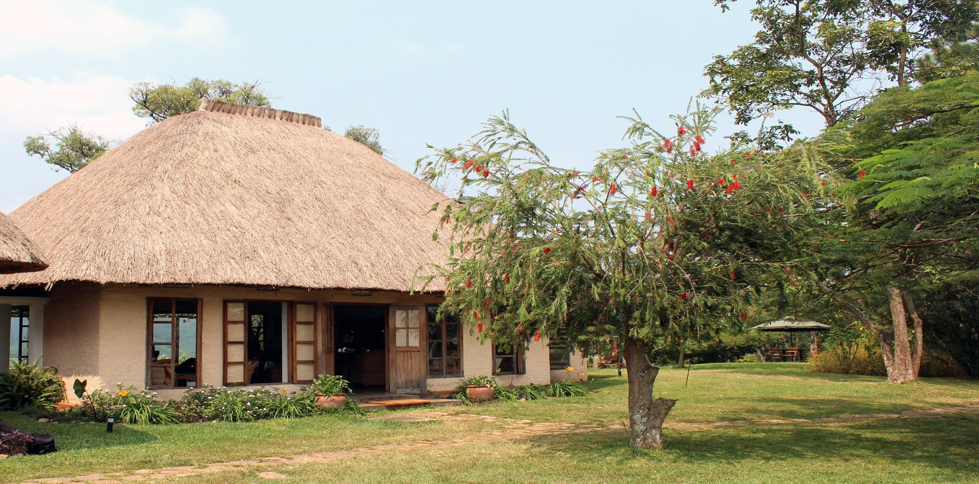 Ndali Lodge Exterior in Uganda