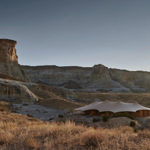 Amangiri Exterior at Night Utah America