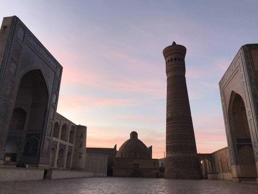 Early morning Bukhara Uzbekistan