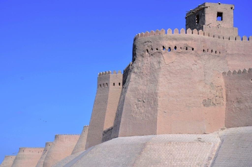 Uzbekistan Khiva city outer walls