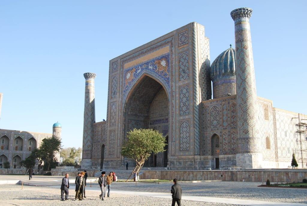 Samarkand Uzbekistan architecture