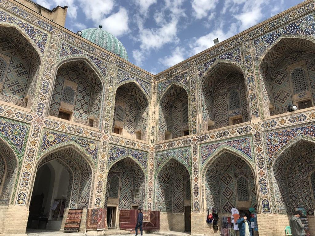 Registan Square Samarkand Uzbekistan