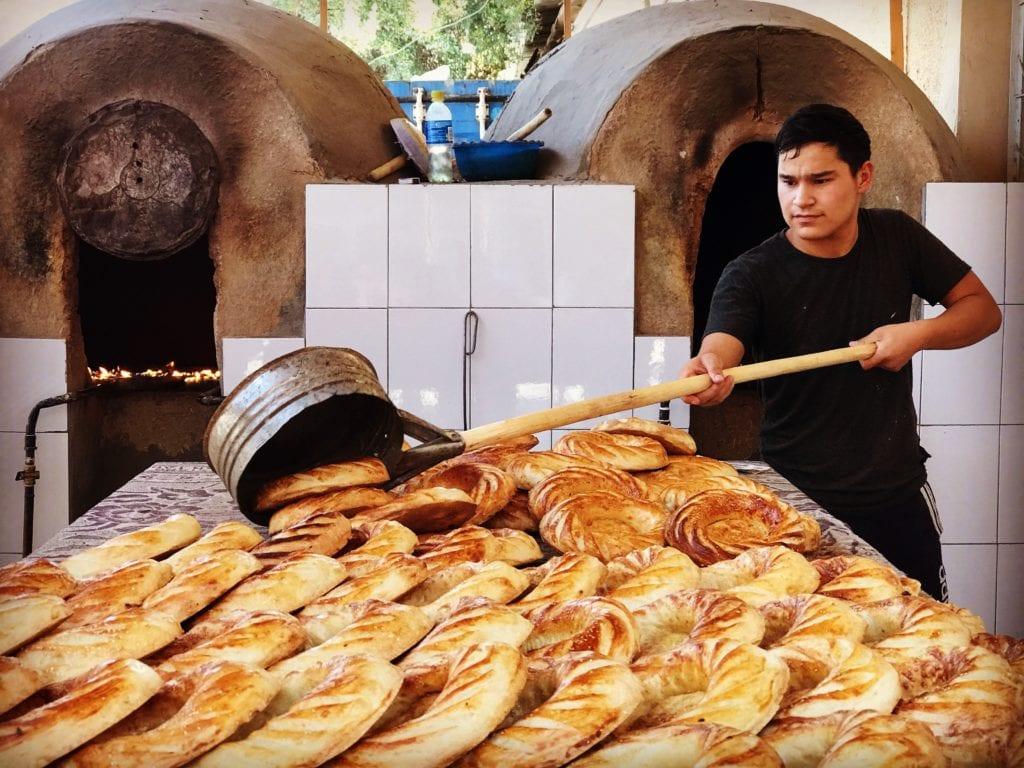 Tashkent bakery Uzbekistan